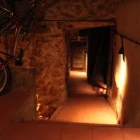 Pasillo del sótano